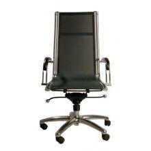 Moderne Lederen Bureaustoel.Kare Design Commander Bureaustoel Hoog Stoelen Stoelen
