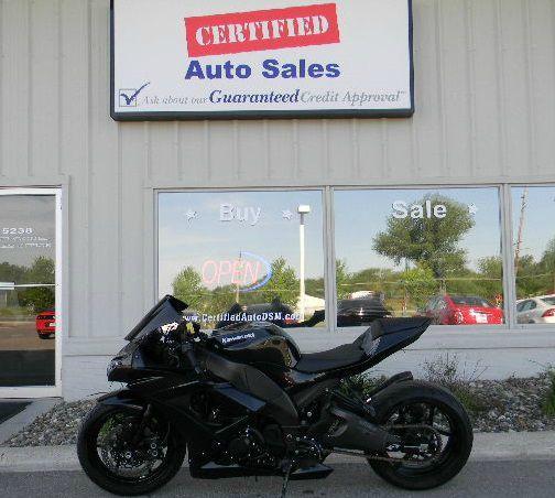 2010 Kawasaki Ninja Zx 10r Des Moines Ia