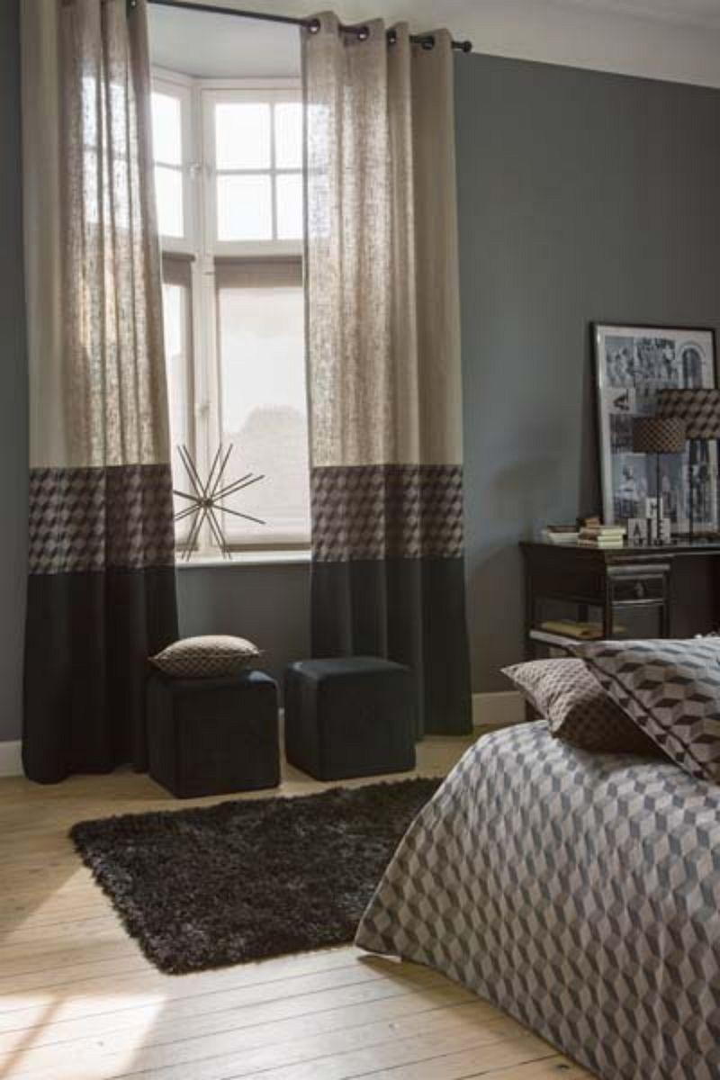 rideaux en confection trio kubik lin et monaco noir fringues et mode pinterest monaco. Black Bedroom Furniture Sets. Home Design Ideas