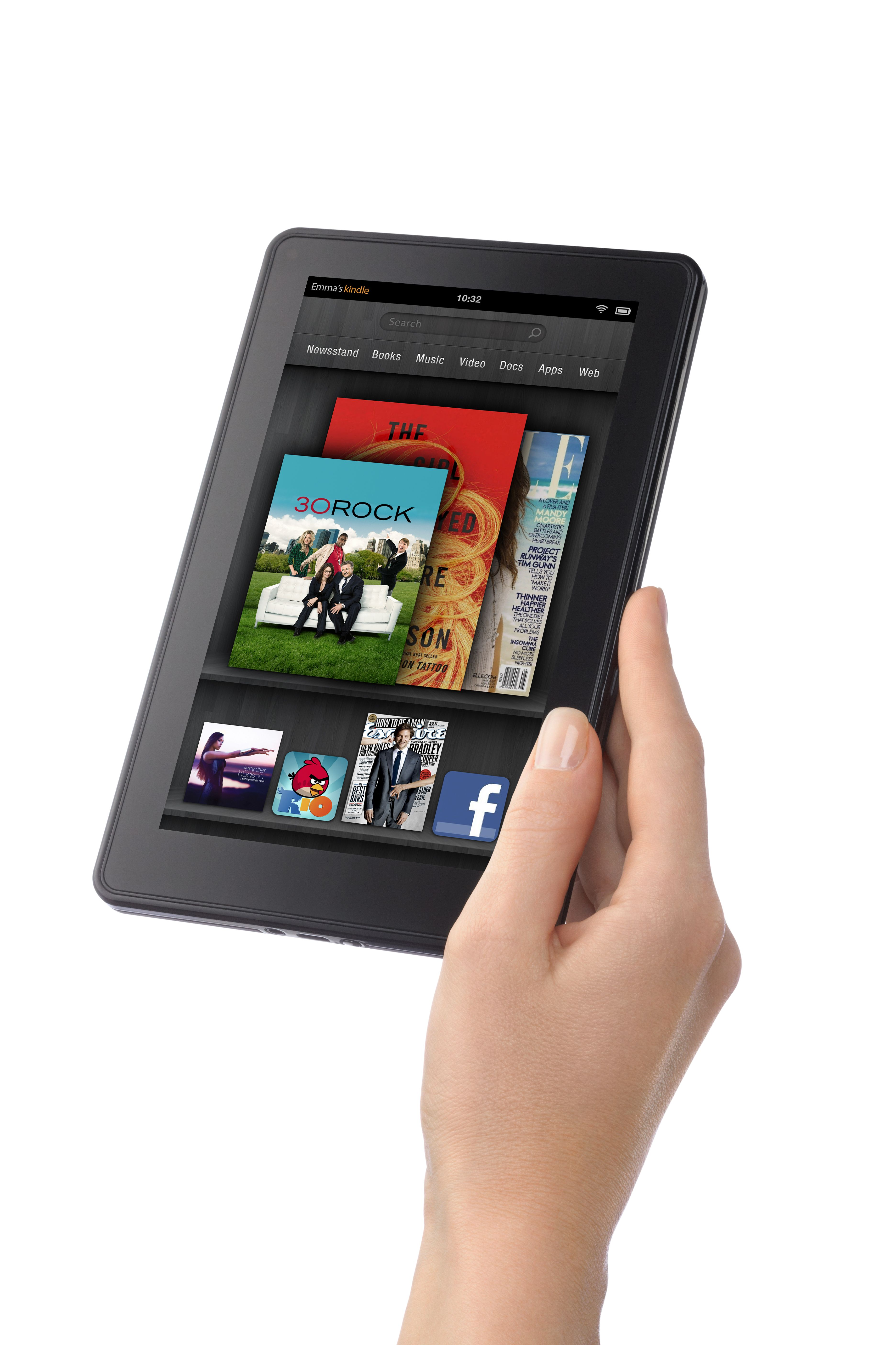 With Kindle Fire Amazon Looks To Burn Down Apple S House First