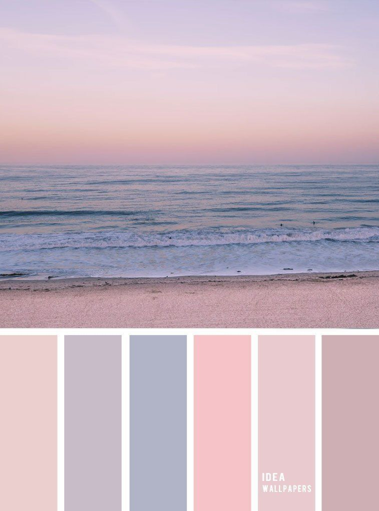 Paleta De Colores Inspirados En Cielo Malva Paleta De Colores Pastel Paleta De Colores De Cielo Sunset Color Palette Pastel Color Schemes Pastel Colour Palette