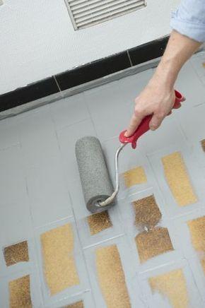 Repeindre le carrelage au sol d\u0027une cuisine  tuto en images Pinterest