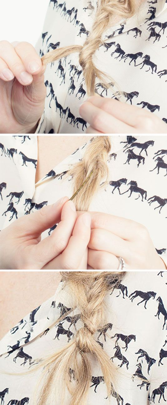 20 Life Changing Ways To Use Bobby Pins Cosmo Hair Pinterest