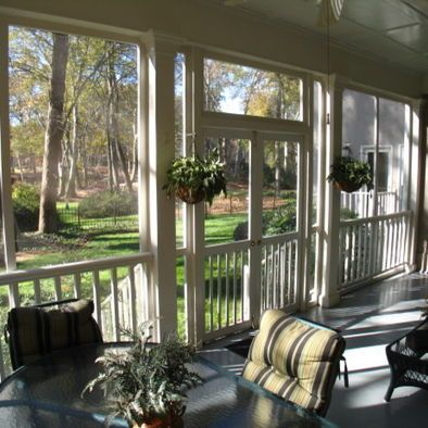 love screened porches! Porches Pinterest Porch designs, Porch