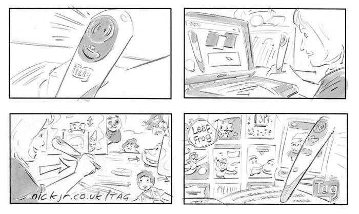 Commercials Storyboard  Google   StoryboardComic