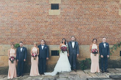 Bridal party and the cellar | Eschol Park House