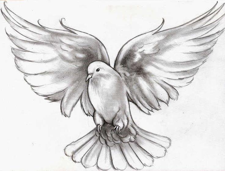Flying Dove Tattoo Design Jpg 736 560 Tatoeage Ideeen Vredesduif Vogels Tekenen