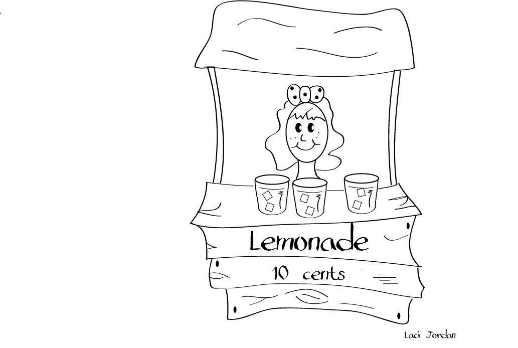 Lemonade Coloring Pages Bing Images Lemonade Stand Birthday