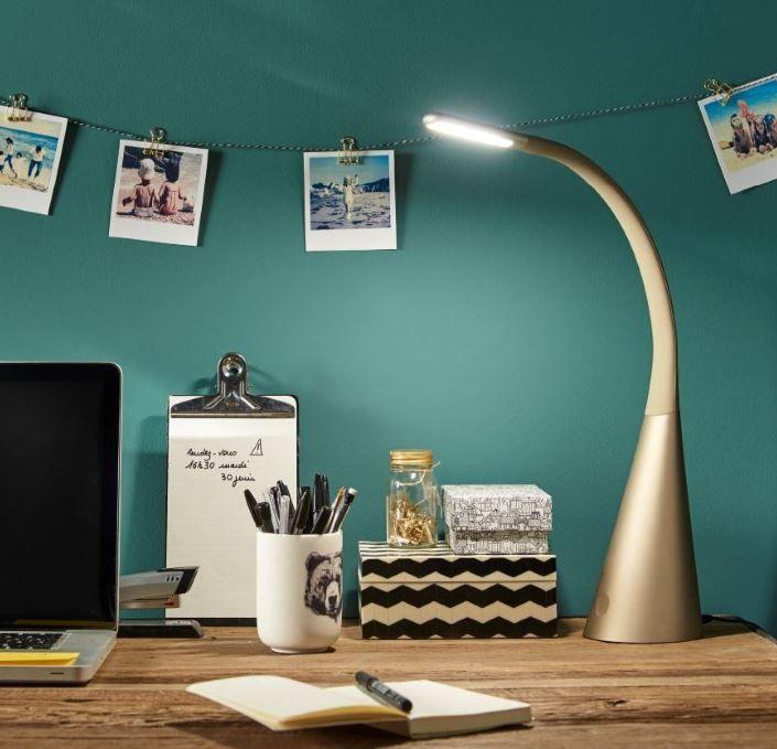 Lampe De Bureau Led Colours Nana Or Lampe De Bureau Lampe