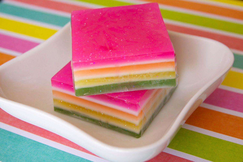 Glycerin Soap - Sweet Pea Glycerin Soap. $6.00, via Etsy.
