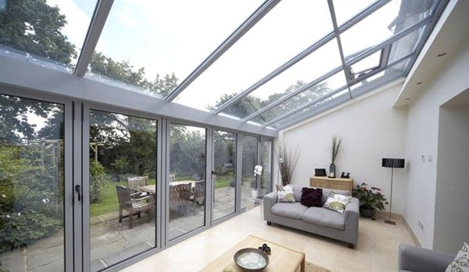 At Room Outside We Have Proven Time And Again That We Can Create The Most Stunning And Complex Glazed Stru Glass Roof Extension House Roof Patio Roof