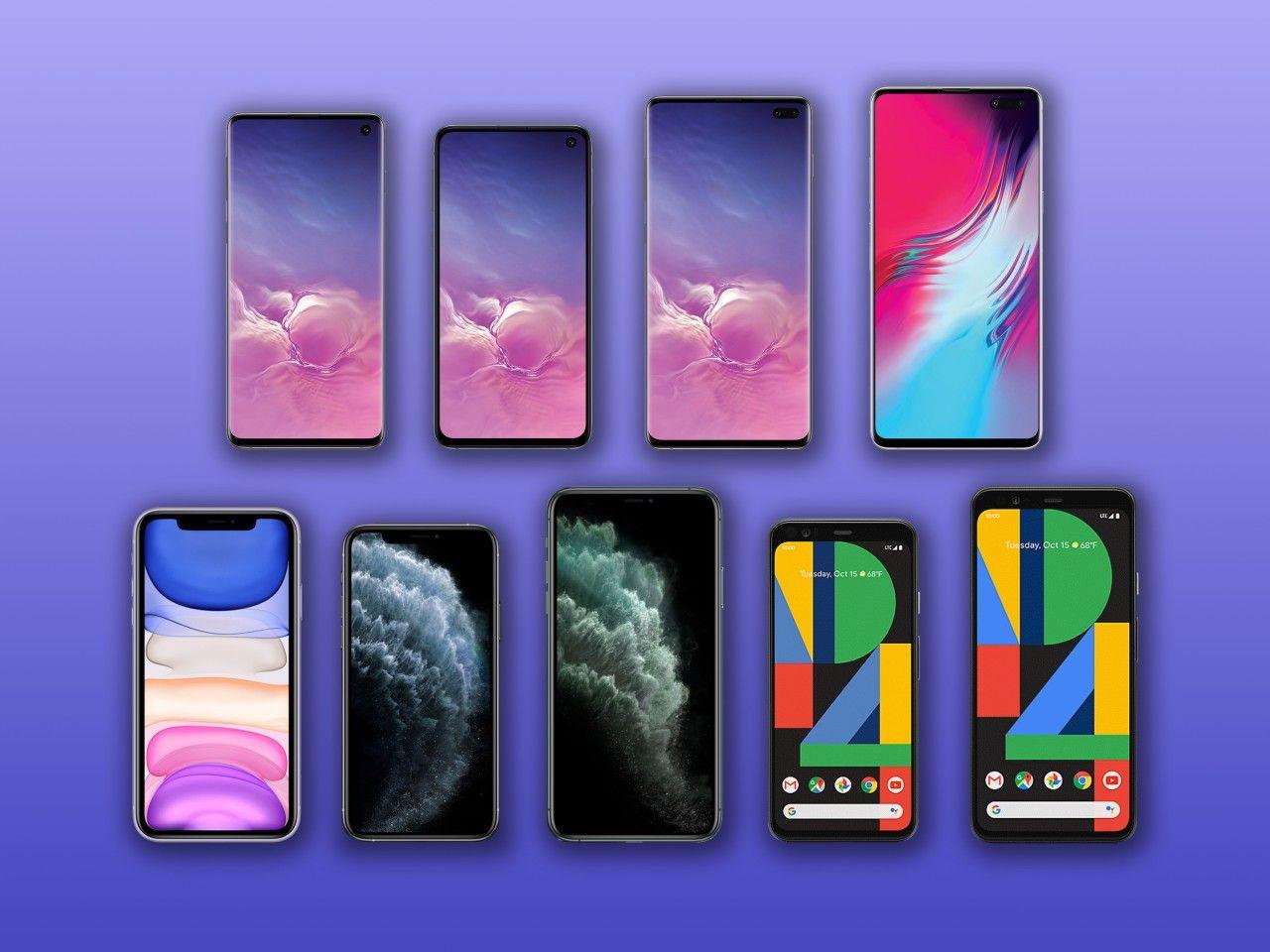 2019 flagship phone comparison iPhone 11 vs. Pixel 4 vs