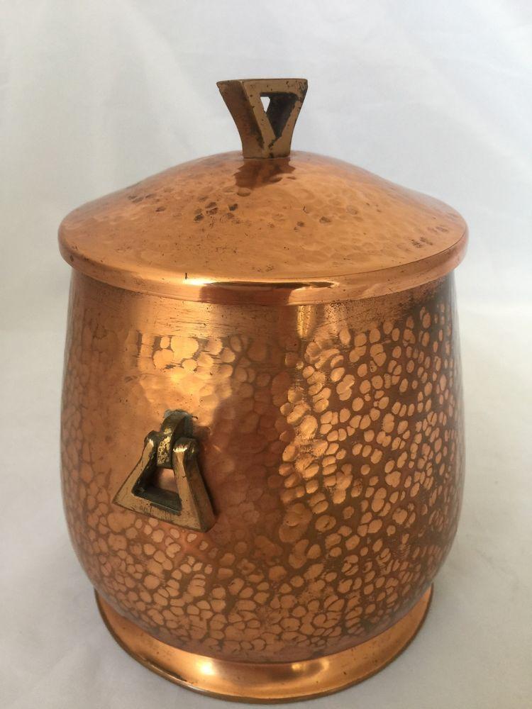 Vintage Humidor Hammered Copper Art & Crafts Movement Jugendstil Deffner WMF    eBay