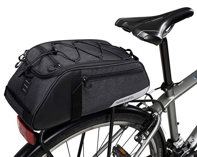 5L Waterproof Mountain Bike Road Bicycle Bag Cycling Rear Rack Tail Seat Pannier