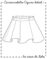 Risultati immagini per cartamodelli abiti bimba
