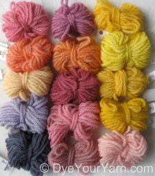 How to dye wool yarn with koolaid and wilton food colors jess also best your own coloring images natural rh pinterest