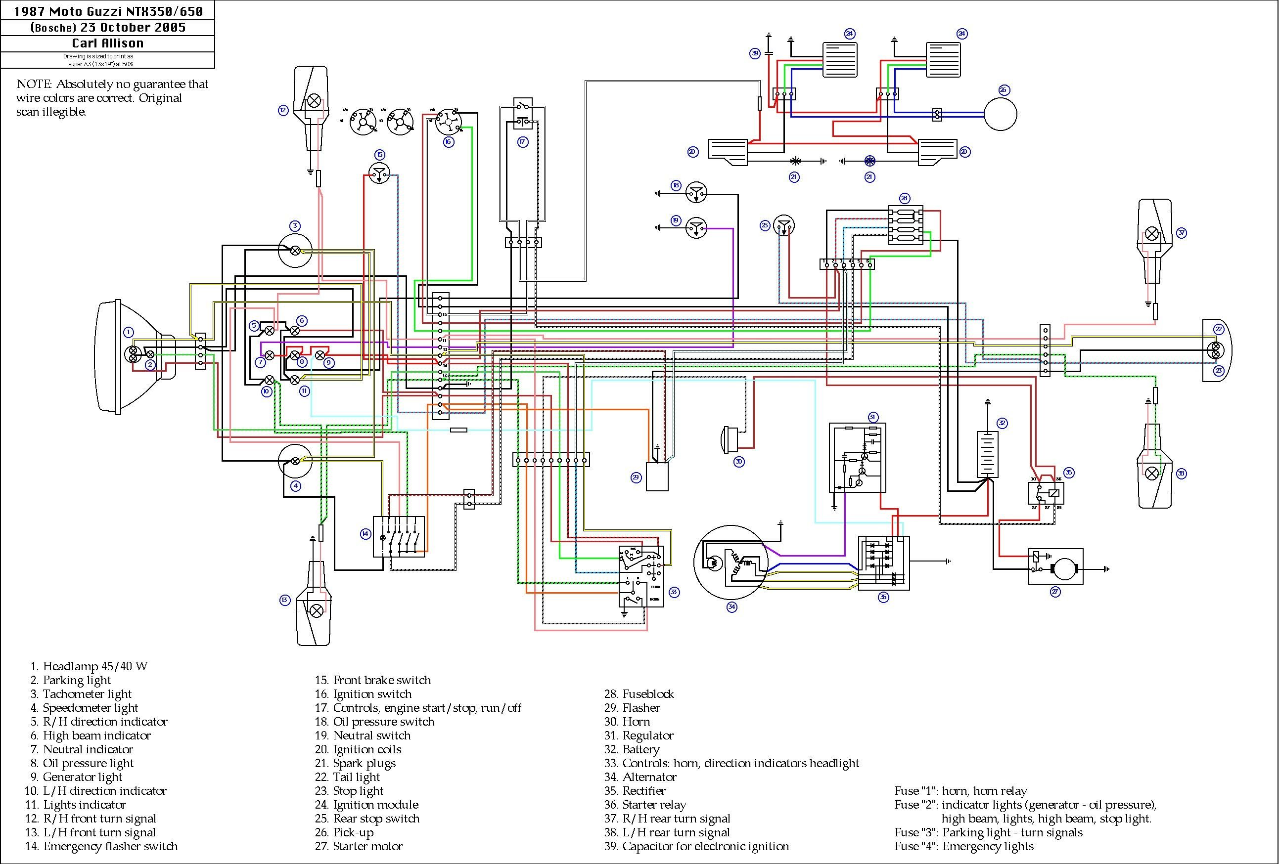 2004 Yamaha Kodiak 400 Wiring Diagram Unique In 2020 Motorcycle Wiring Electrical Diagram Electrical Wiring Diagram