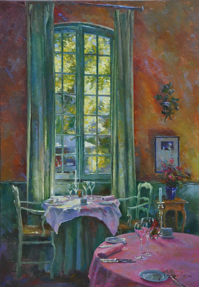 Johan Messely Cottage Art Painting Art