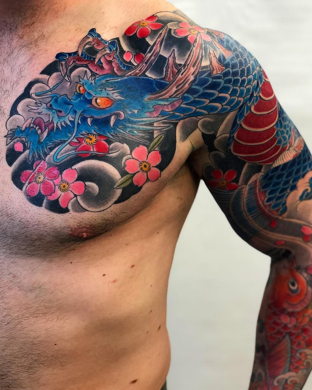 13+ Stunning Dragon tattoo meaning on a man ideas