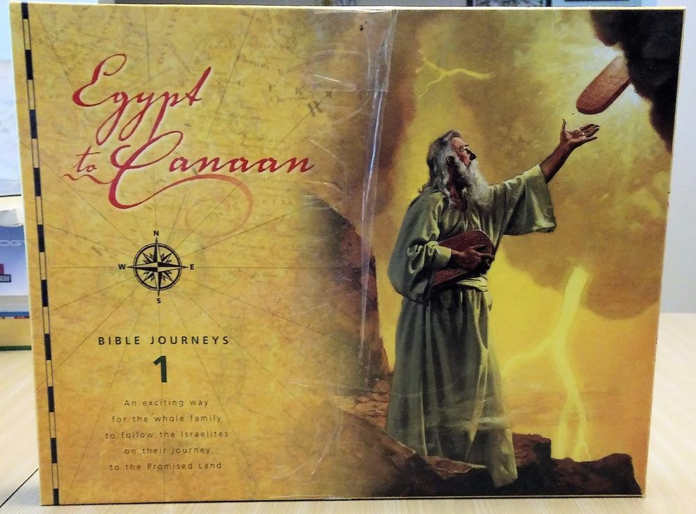 Egypt to Canaan BIBLE board Game Follow MOSES Learn Promised