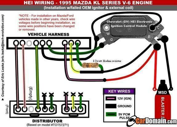 Gm Hei Distributor And Coil Wiring Diagram Yahoo Image Search Results Coil Car Ford Wire