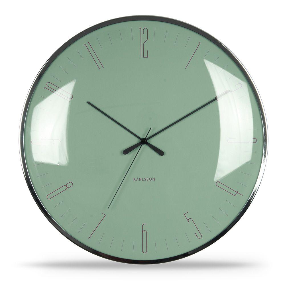 Besondere Designuhr In Grün Dragonfly Von Karlsson Unique Wall Clocks Wall Clock Design Wall Clock