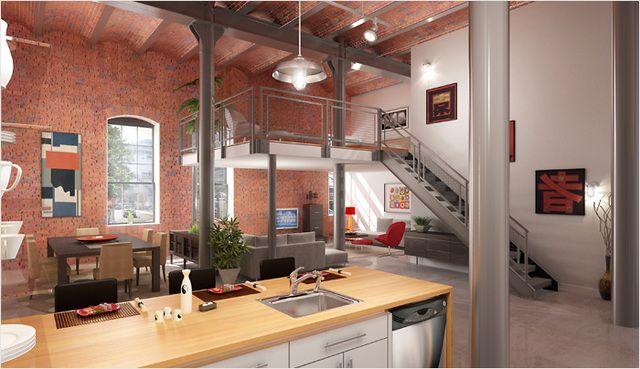 Como Construir Un Loft Economico Buscar Con Google Casa Tipo Loft Apartamentos Estudios De Tipo Loft Hermosas Casas Modernas