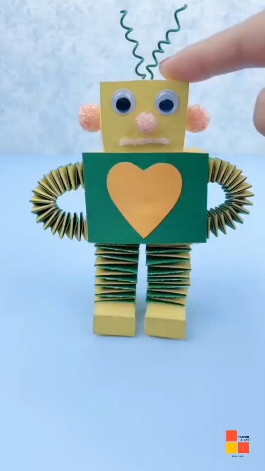 DIY jumping robot.