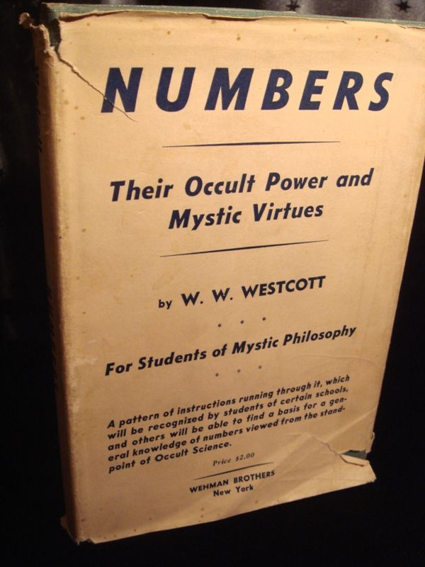 NUMBERS THEIR OCCULT POWERS and MYSTIC VIRTUES, Old