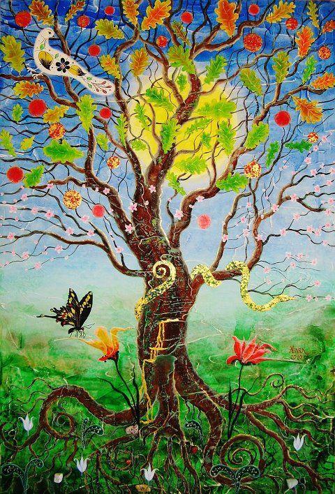 Come un frutto che matura sull'albero della Vita, ogni giorno divento più succoso.