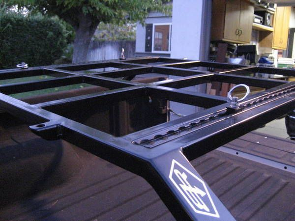 Box Rocket Fab Bed Racks Truck Bed Camping Truck