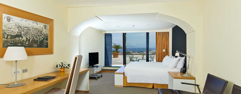 Entscheiden Sie sich für das Hilton Executive Zimmer mit King-Size ...