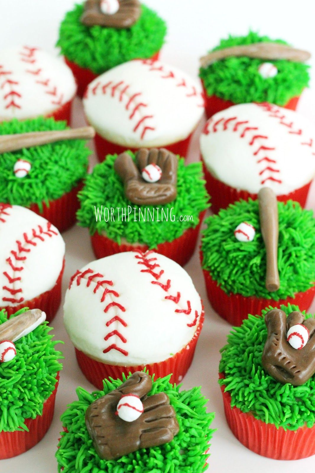 How to Decorate BaseballThemed Cupcakes forecast