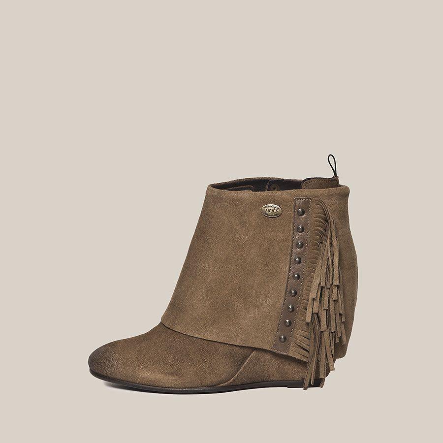 low-boots femme ikks (bc80095) | vêtement femme hiver 13 | pour