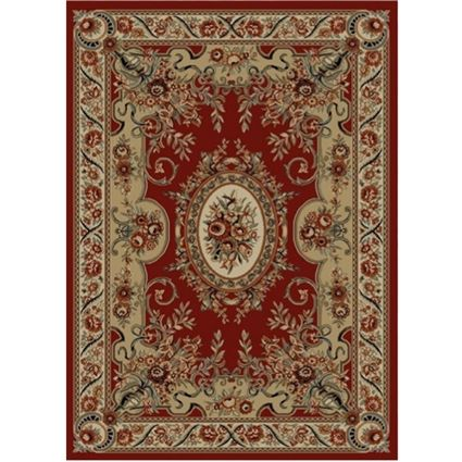 Andrea Burgundy Claret Fl Ribbons Victorian Area Rug Collection In 2 Sizes An Accent