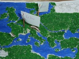 Highhill Homeschool: Celtic history co-op. Week 1: Salt Maps