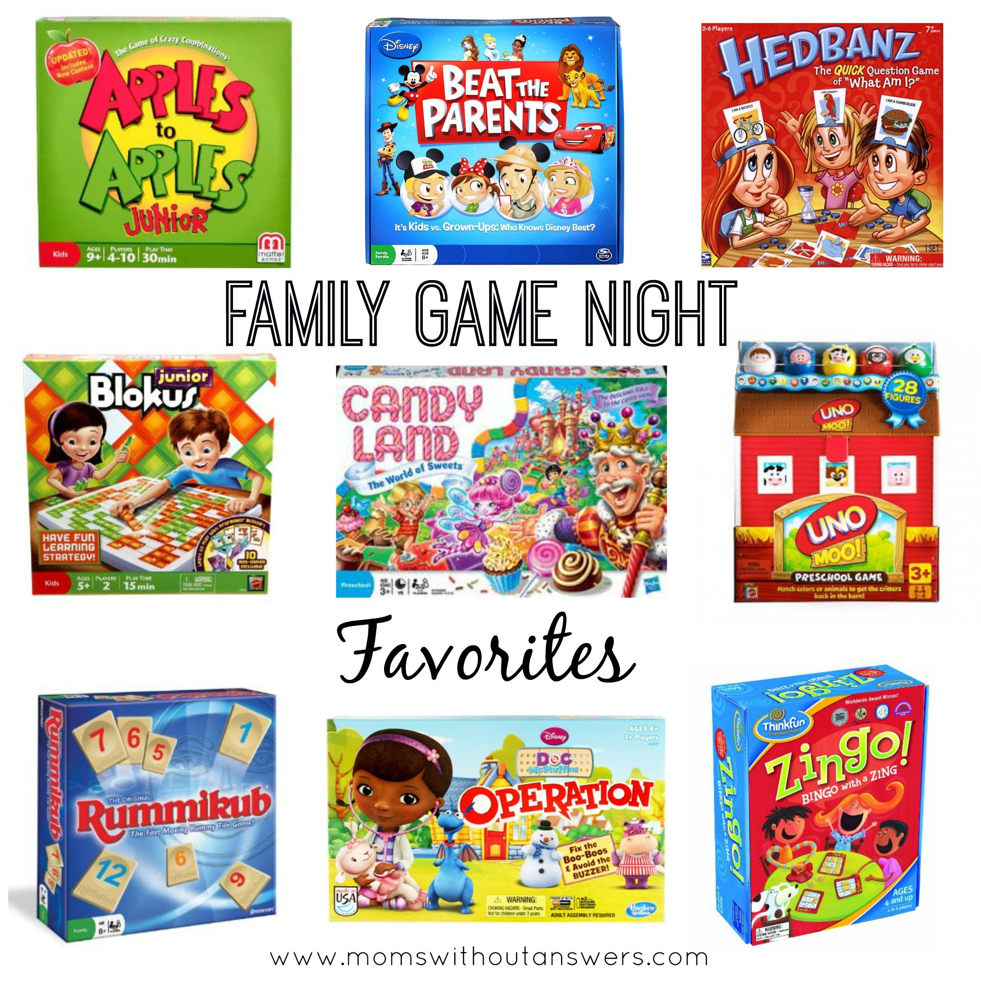 Favorite Family Board Games Houston Mommy And Lifestyle Blogger Moms Without Answers Family Board Games Night Family Game Night Family Game Night Basket