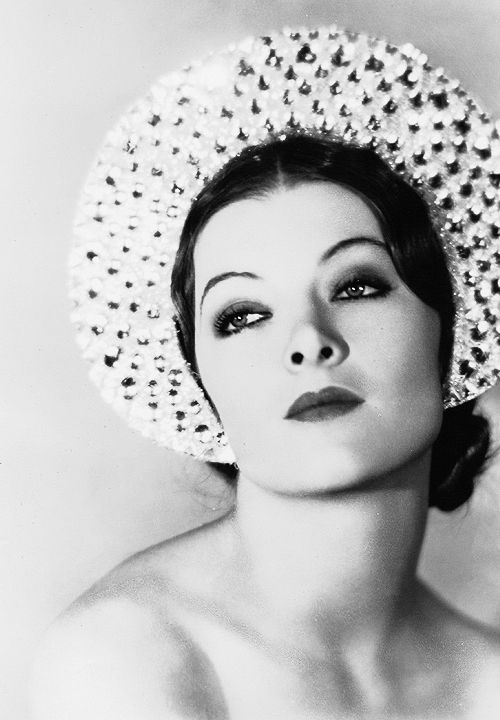 Myrna Loy - exotic beauty from the 30s