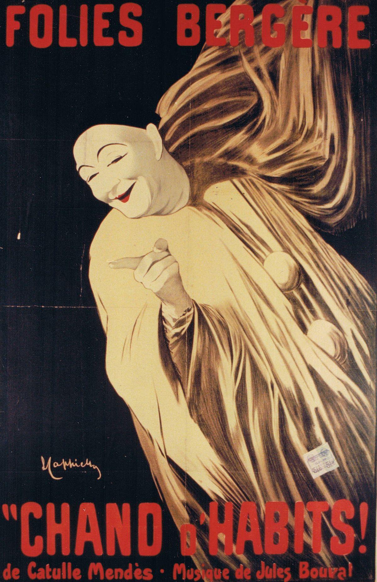 Pantomima Wikipedia La Enciclopedia Libre Anuncios Vintage Dibujos De Publicidad Diseno Carteles