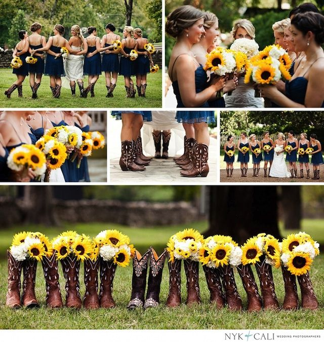 Southern Wedding Looovveee The Sunflowers 3 Wedding Ideas
