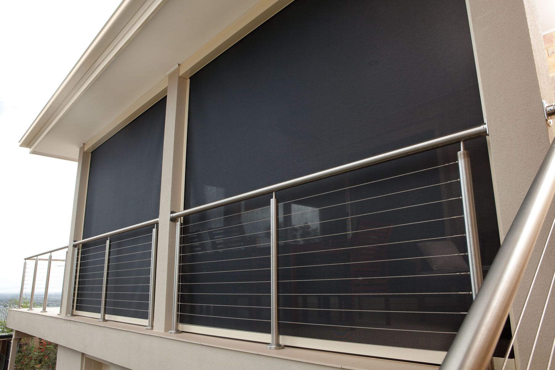 Ambient Blinds For Patios Patio Awnings Enclosed Privacy