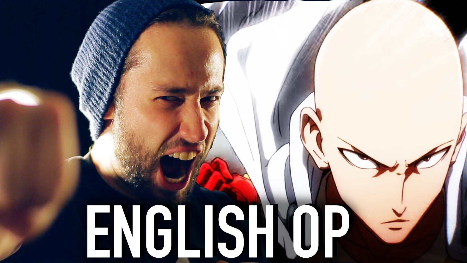 One Punch Man Opening The Hero Jonathan Young English Cover One Punch Man One Punch Hero