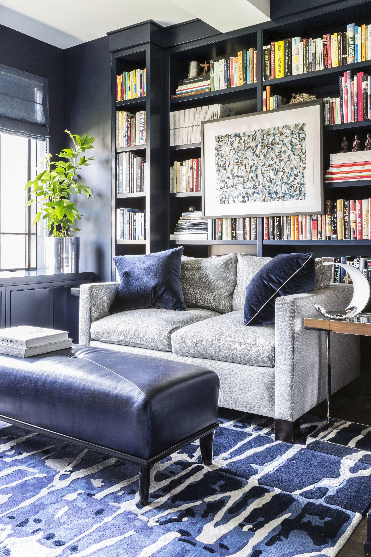 Deco Maison Salon Bleu