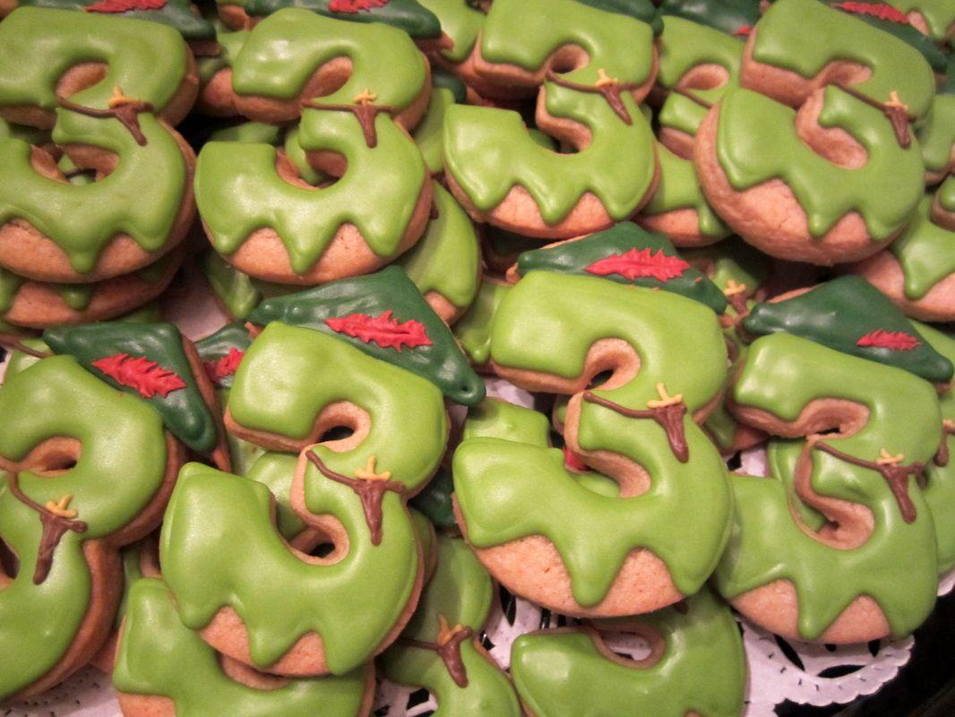 Peter Pan Birthday cookies - Mt Lookout Sweets