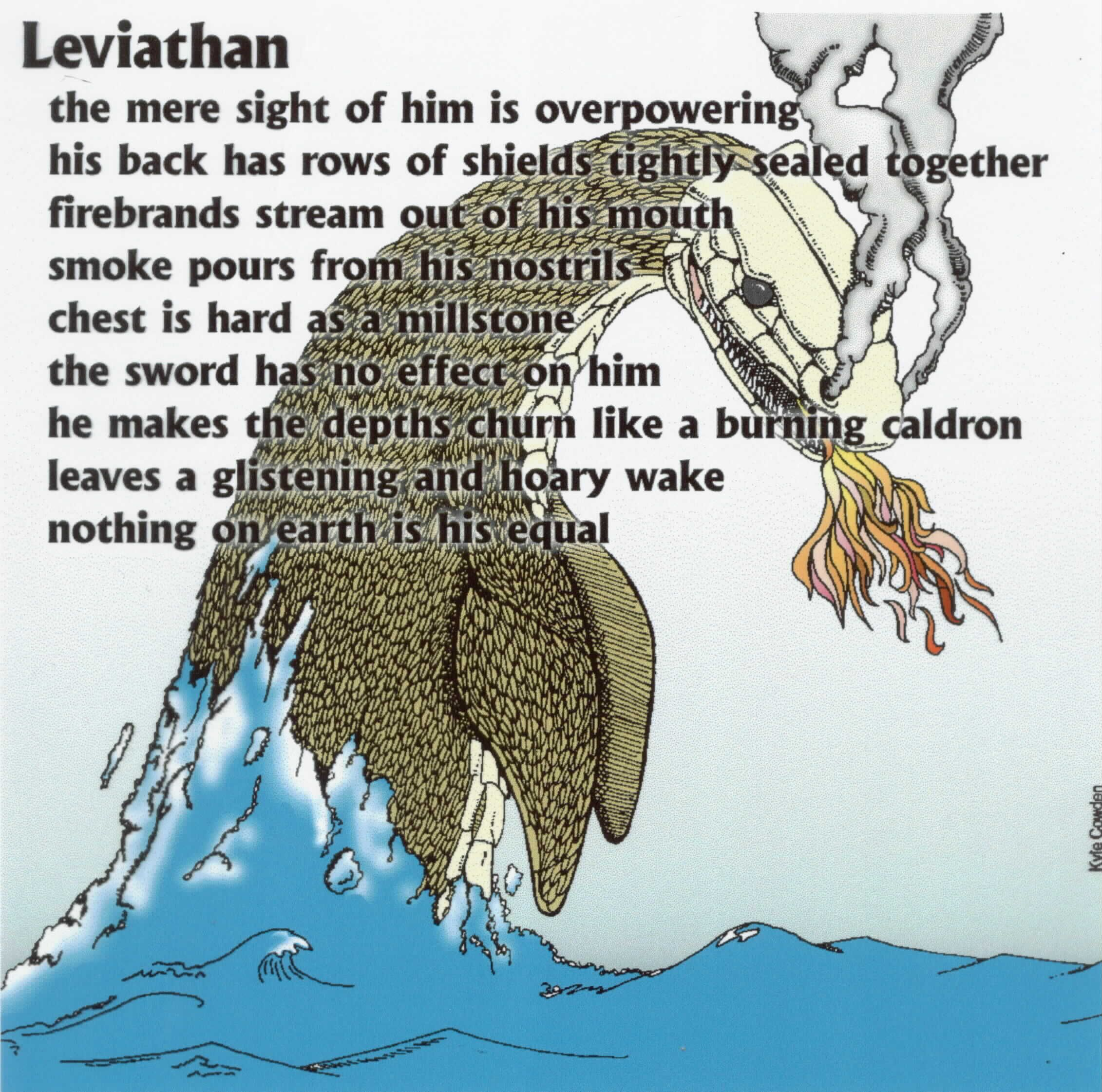 leviathan a possible sarcosuchus described in the book of job chapter 41