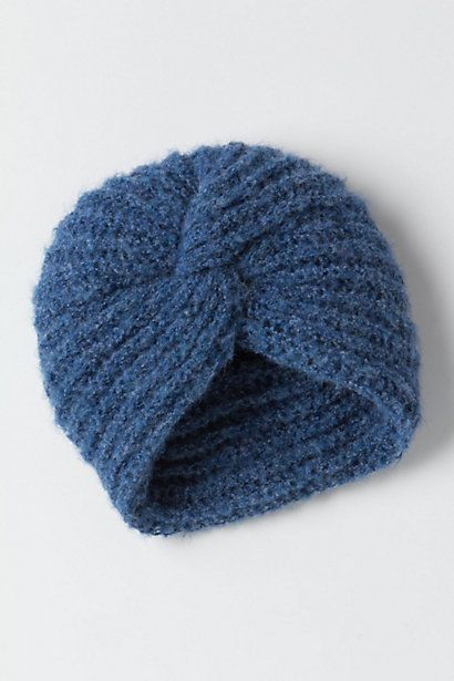 The Elder Statesman Cashmere Turban | Knitting, Baby hats ...
