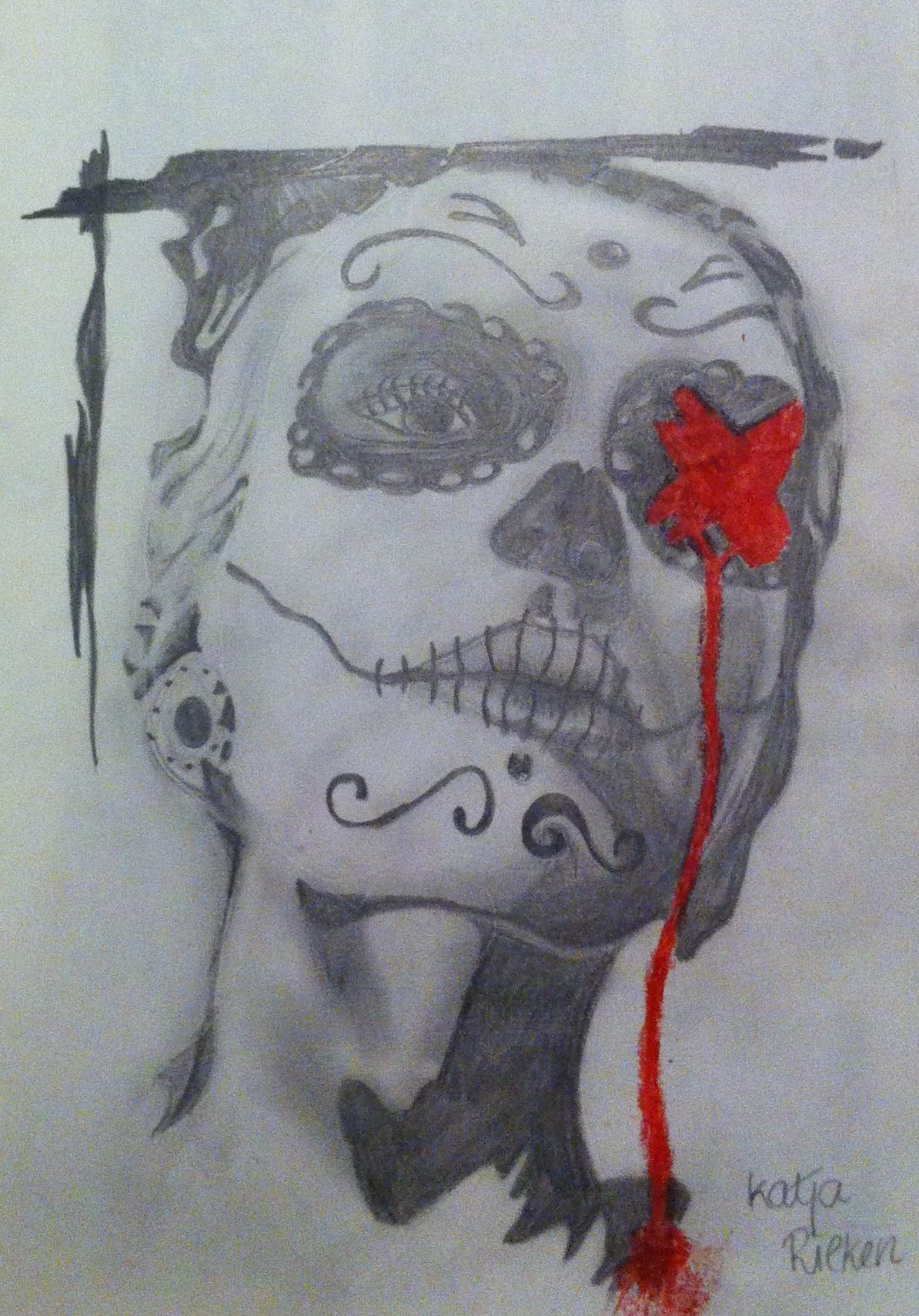 Dia de los muertos, 2013 - Personal work | Pinterest