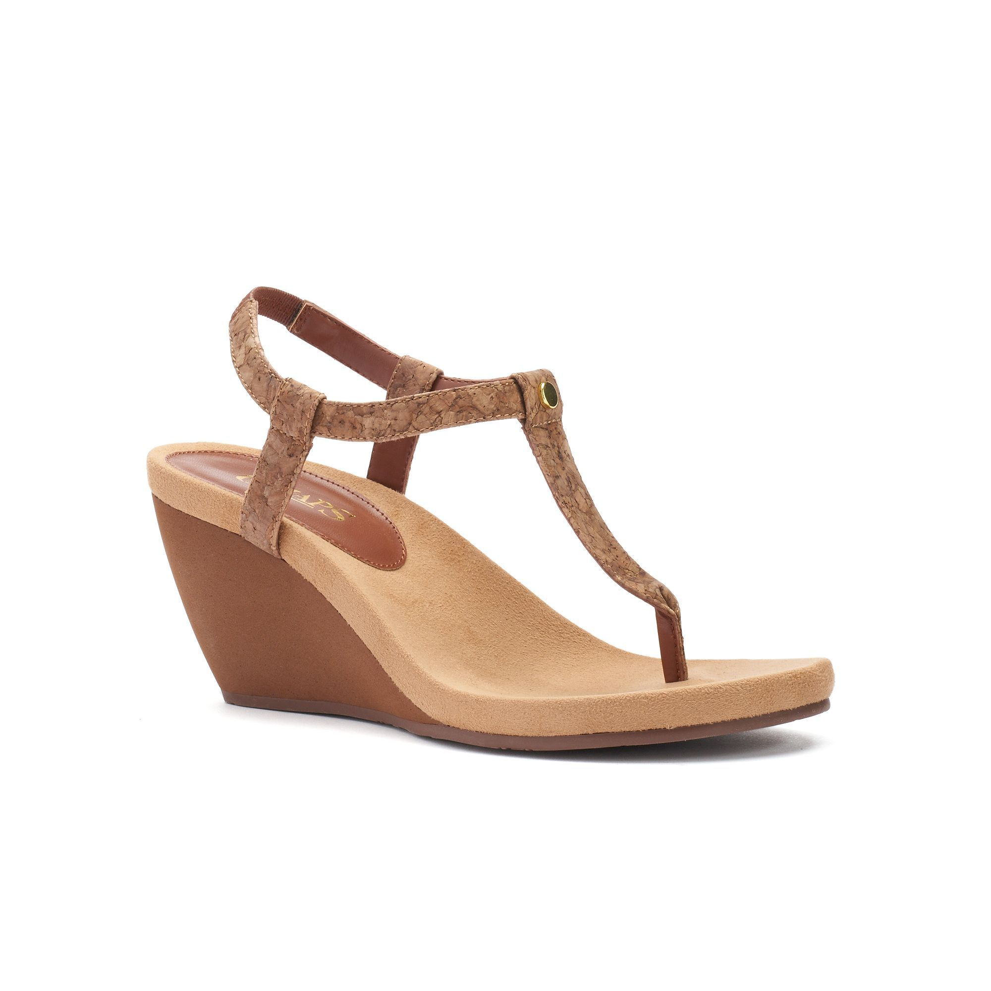 Chaps Raevyn Women's Slip On Wedge Sandals | Wedge sandals