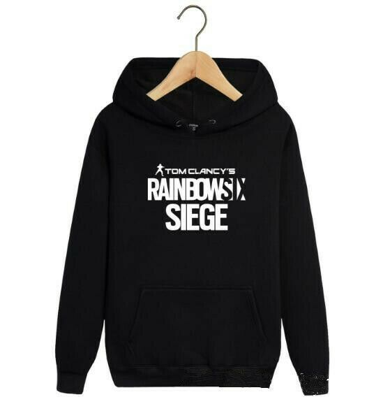 16fc4d5c5f403c (eBay Sponsored) 2019 NEW Rainbow six Hoodie Men Jacket Full Sweatshirts  warm Coat