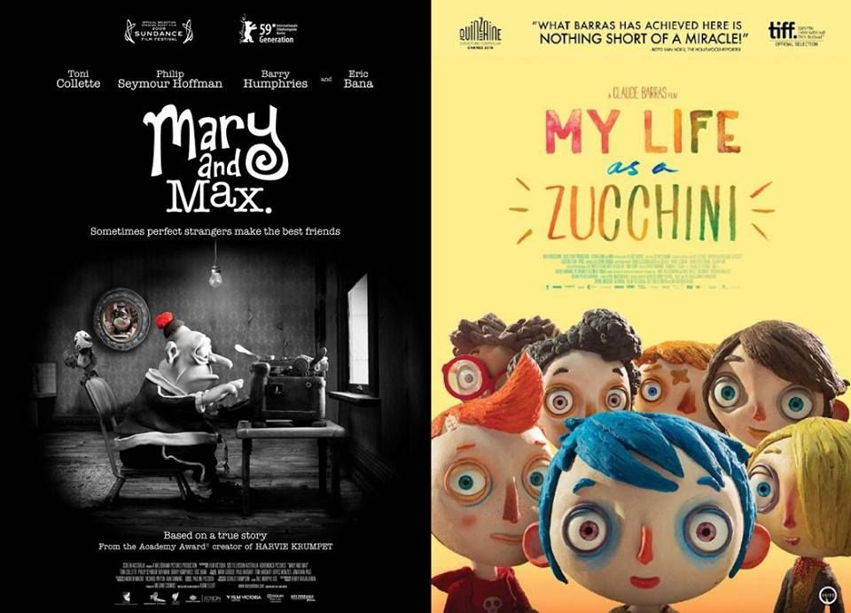 Claymation With Heart Mary And Max My Life As A Zucchini Mary And Max Perfect Strangers True Stories